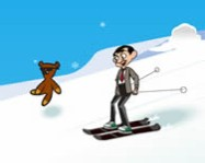 Mr Bean skiing holiday ingyen j�t�k
