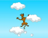 Scooby Doo jumping clouds online internetes j�t�k